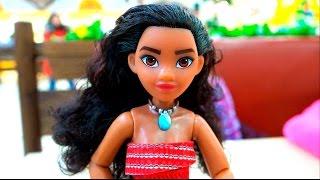 ВЛОГ Идем на Мультфильм МОАНА смотрим игрушки и покупаем принцессу Моану делаем распаковку