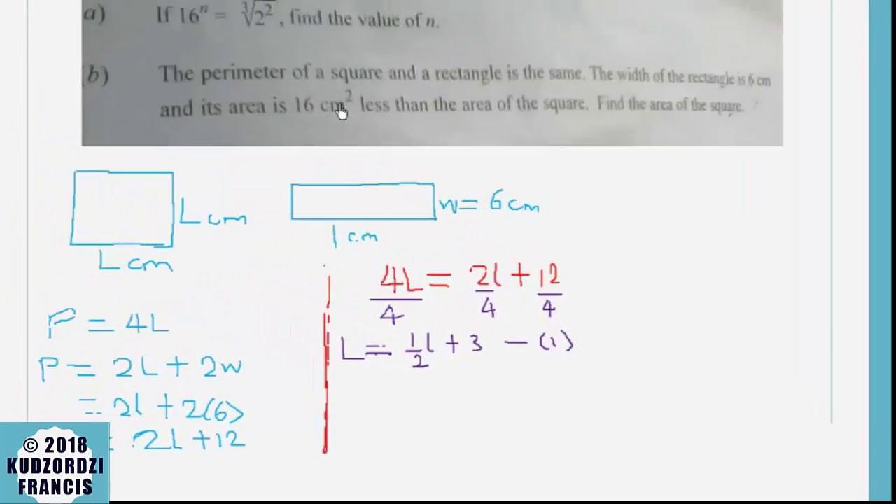 Download WASSCE 2018 Core mathematics Paper 2 May June Q9, Q12 , Q4 and Q13