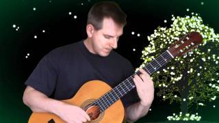 On the street where you live / classical guitar solo. Spanish romantic guitar.
