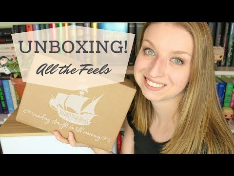 Unboxing   Second Star Book Box December 2018