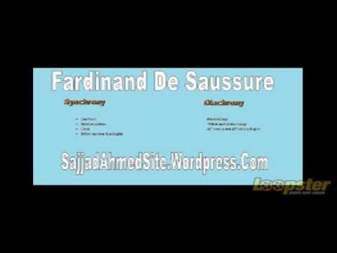 Fardinand De Saussure Synchrony and Diachrony in Urdu