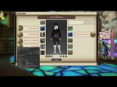 FFXIV: Fashion Report Friday - Week 15 - Theme : Up The Wildstyle