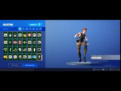 Wildcat Doing Default Dance Moves (High Pitched Music) | Fortnite