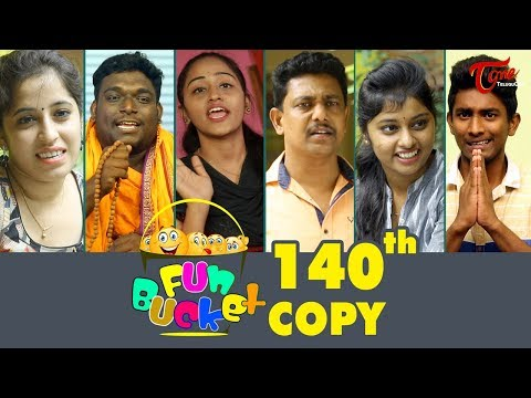 Fun Bucket  140th Episode  Funny s  Telugu Comedy Web Series   Sai Teja  TeluguOne