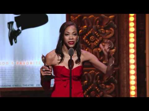 Tony Awards Acceptance Sch Nikki M. James - The Book of Mormon