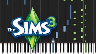 Download The Sims 3 - Main Theme [Piano Tutorial] (♫) MP3 song and Music Video