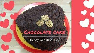 Chocolate Cake Recipe | 5 minutes Recipe #ValentinesSpecial #Valentines #ValentinesDay