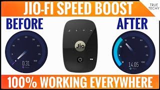 JioFi Speed Booster, Increase Speed From 0.4Mbps to 14Mbps, Best Jio APN Setting For High Data Speed