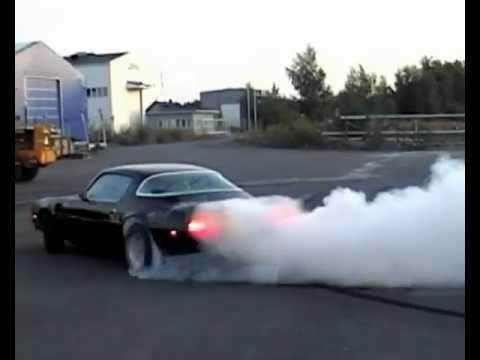 Camaro Trans Am >> Trans Am burnout - YouTube