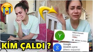 YOUTUBE KANALIM ÇALINDI !! KİM ÇALDI ? (ÇOK AĞLADIM)
