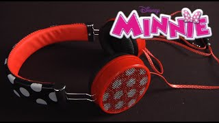 Minnie Mouse Fashion Headphones from KIDdesigns
