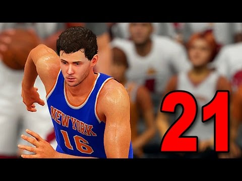 NBA 2K16 My Player Career - Part 21 - Droppin' 20 in the Playoffs (PS4 Gameplay)