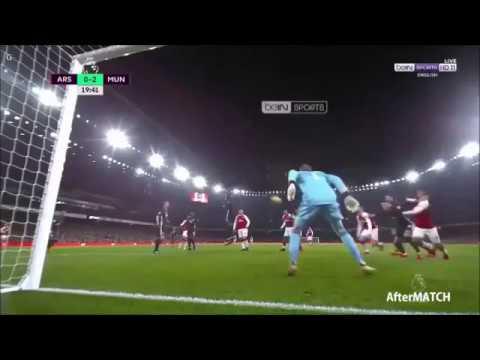 Great saves in 1 minute | David De Gea vs Arsenal 2017-18