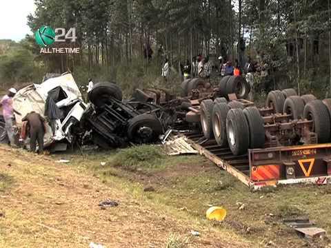 Survivors Of Salgaa Accident Recuperating In Various Hospitals In Nakuru County