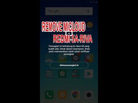 Cara Remove Mi Cloud Redmi 5A [RIVA] - Zahwa Cell