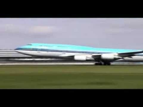Airplane Take-off and Landing Compilation - YouTube
