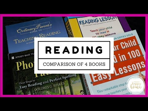 Curriculum Comparison || Kindergarten Reading Curriculum || Teach Your Child to Read ...
