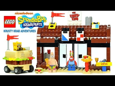 LEGO® SpongeBob SquarePants 3833 Krusty Krab Adventures w/ Patrick & Mr. Krabs