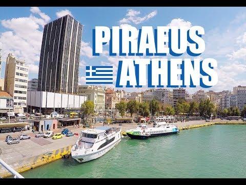 Piraeus Athens Greece: Walking Tour Of The City Center To The Port