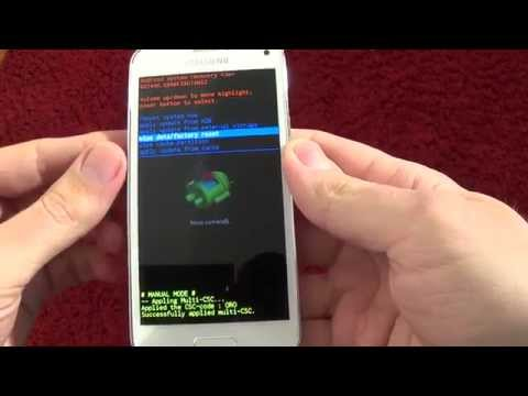 Samsung Galaxy S5 mini G800F hard reset