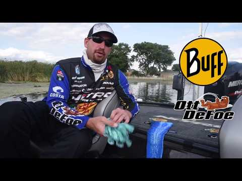 Pro Angler Ott DeFoe talks BUFF® Sun Protection