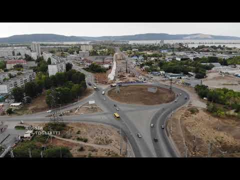 Строительство многоуровневой развязки  на трассе М-5 г.Тольятти