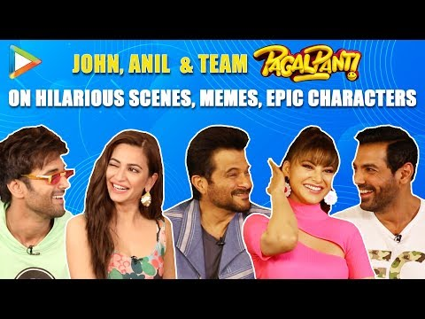 HILARIOUS: Savage Anil Kapoor TEASES Pulkit, Kriti & Urvashi | John Abraham | Pagalpanti Mp3