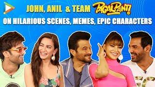 HILARIOUS: Savage Anil Kapoor TEASES Pulkit, Kriti & Urvashi | John Abraham | Pagalpanti