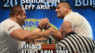European Armwrestling Championship 2015 2015- Senior MEN FINAL -2015 -LEFT ARM EURO ARM(Please LIKE AND SUBSCRIBE for more cool ARMWRESTLING action Follow us on Facebook:http://tinyurl.com/lvpl7fe Video source:WORLD ARMWRESTLING ..., 2015-06-06T21:55:07.000Z)