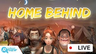 แคสเกมส์ Home Behind เกมส์แนวเอาตัวรอดบนมือถือที่ผสม RPG สมัยเก่าได้อย่างลงตัว [Live Game Streaming]