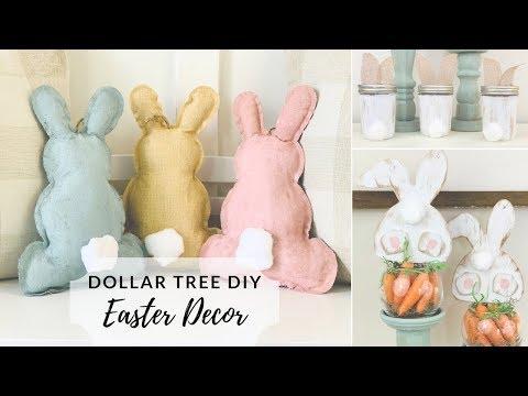 Dollar Tree DIY Easter Farmhouse Decor