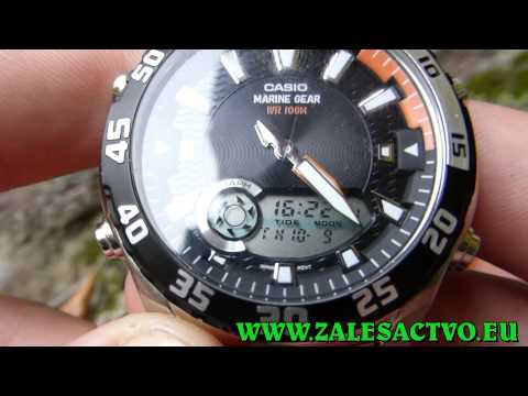 Casio Marine Gear AMW 710