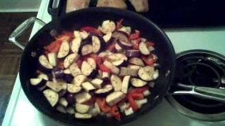 Thai Eggplant Stir-fry- Raspberry&coconut Paleo Cooking