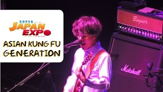 "HD Asian Kung fu Generation Chile ""Rewrite and Haruka Kanata"" Super Japan Expo"