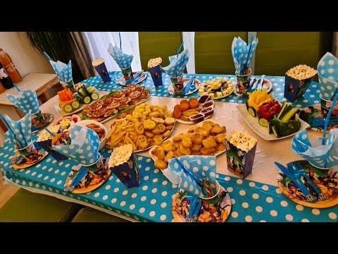День рождения нашего сыночка/ Подготовка и сам детский праздник