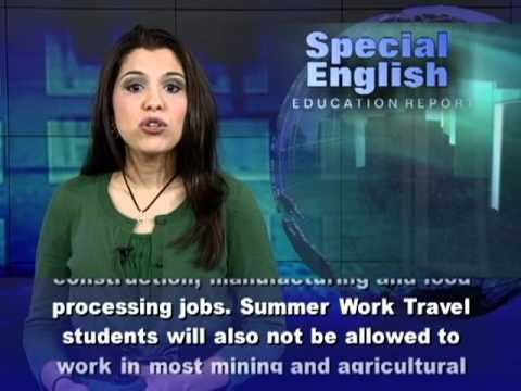 New Rules On US Summer Jobs For Foreign Students