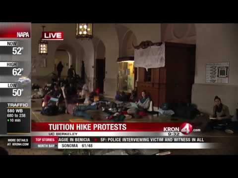 UC Berkeley Students Continue To Protest Tuition Hike