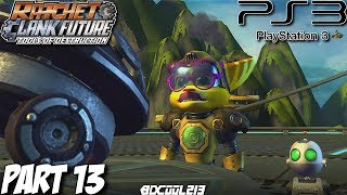 Ratchet & Clank Future Tools of Destruction Gameplay Walkthrough Part 13 - PS3 Lets Play