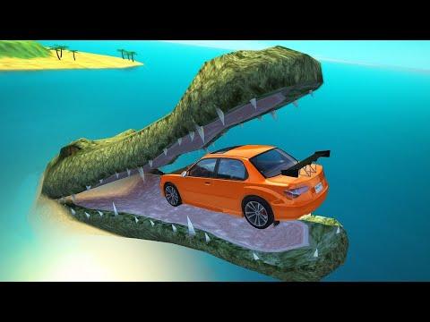 МУЛЬТФИЛЬМ 2020 про машинки для мальчиков   Beamng Drive аварии машины   игра как гонки разбиваются