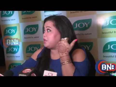 Comedian Bharti Singh  भारती  Interview At Cover Launch Of TVC Compen 2016