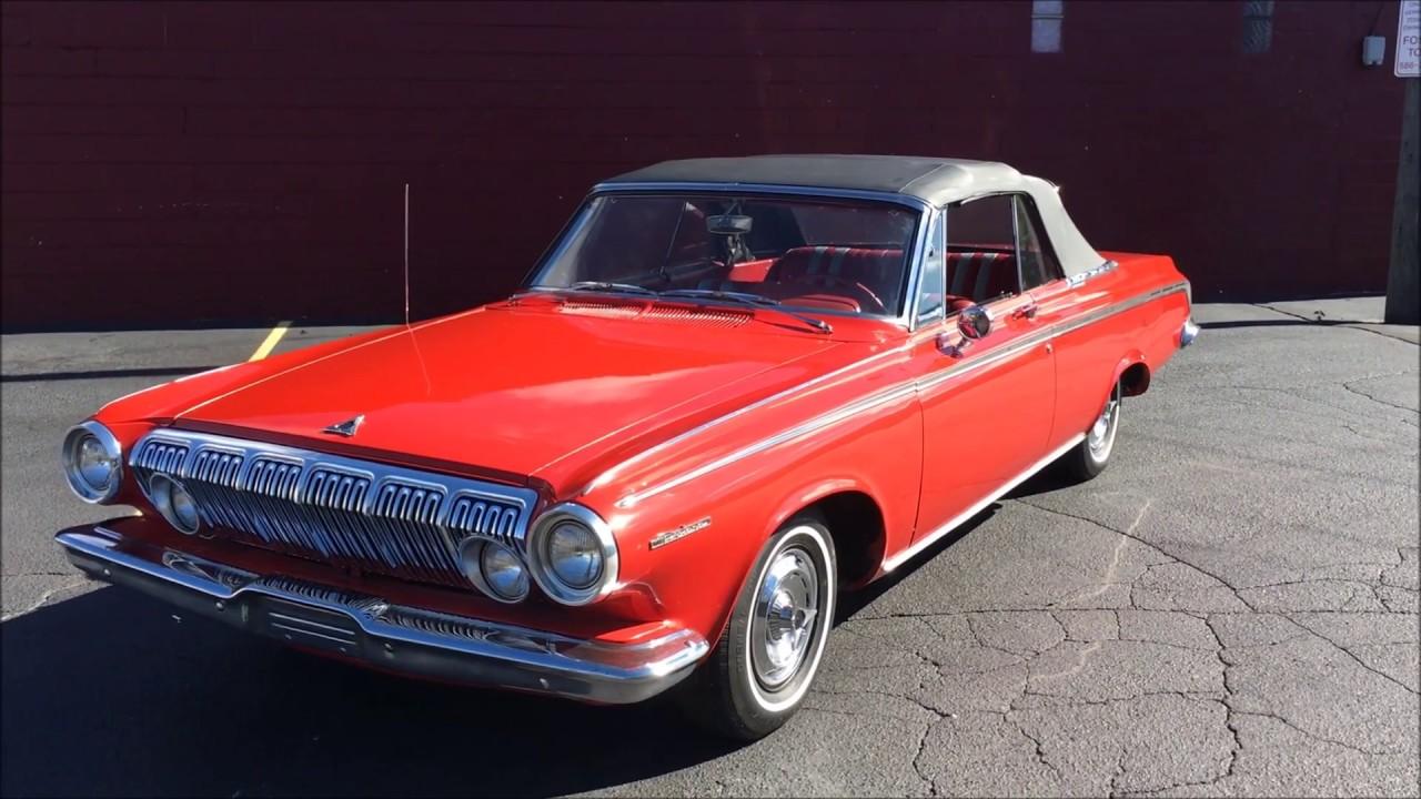 1963 Dodge Polara Convertible For Sale