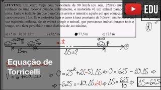 Equação de Torricelli