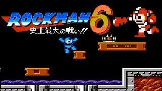 Rockman 6 – Shijō Saidai no Tatakai!! (FC) | Playthrough