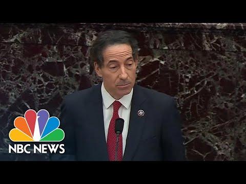 Rep. Raskin Recounts His Experiences During The Capitol Riot At Senate Impeachment Trial | NBC News