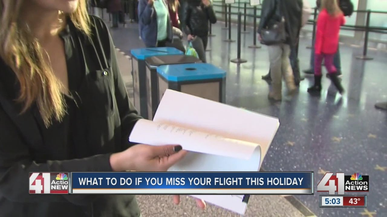 What to do if you miss your flight