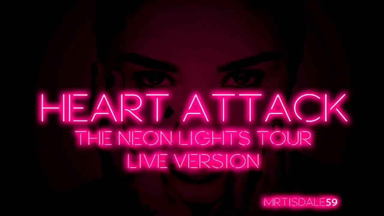 c8bbe42f2547b Demi Lovato - Heart Attack (The Neon Lights Tour Live Version + Intro)   Audio