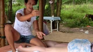 Thai Massage Bang Niang Beach near Tonson Restaurant & Bar - Khao Lak Thailand - Ramada Resort
