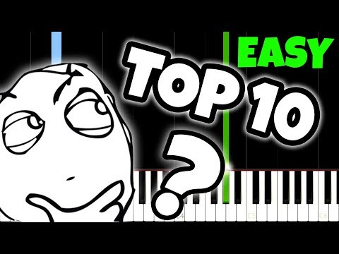 Top 10 Songs Everyone Knows but nobody knows the name of And How To Play Them!
