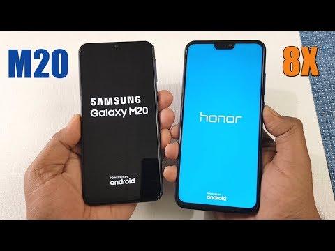 Samsung M20 vs Honor 8X SpeedTest Comparison !!
