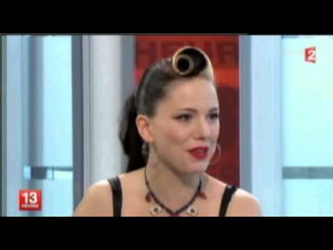 Imelda May - JT 13h (French news)
